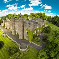 Aerial View of Scone Palace
