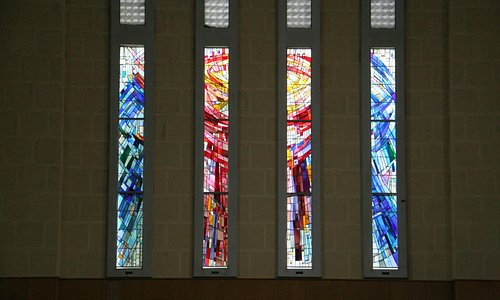Some of the fantstic stained glass