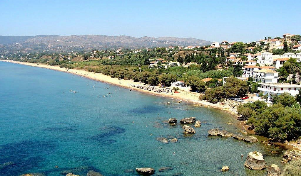 Zaga beach Koroni Messinia