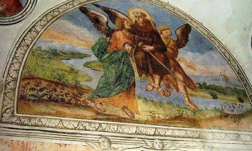 """San Giacomo della Marca in volo"""