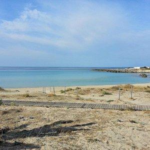 La spiaggia di Montedarena