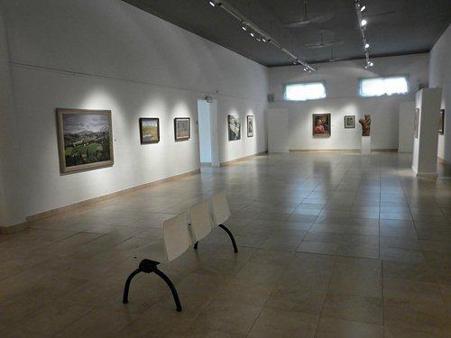 Vista general de las salas del museo