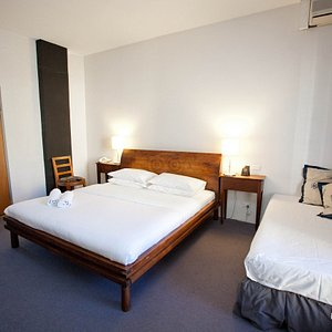 The Deluxe Triple Room at the Altamont Hotel Sydney