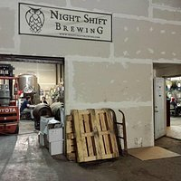 Night Shift Brewing (don't judge this book by its cover)
