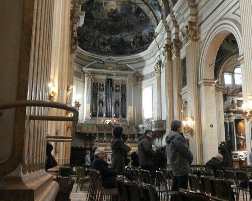 Santuario Mariano della Grangia . Interno organo