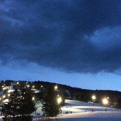 Mowhawk Mountain at Night