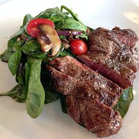 Steak salad - just okay.