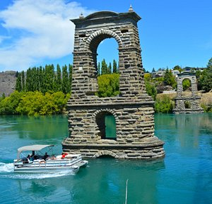 Historic Bridge Alexandra central Otago