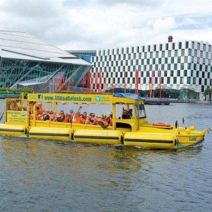 Viking Splash on the water
