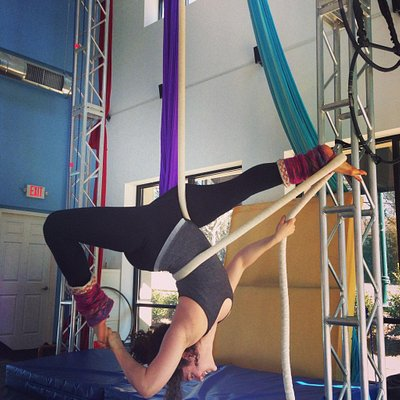 Learn to fly and get an amazing workout!