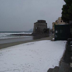 A volte nevica anche in spiaggia