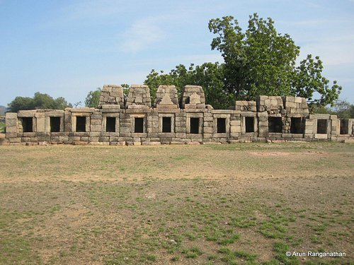 The ruins of Chausath Yogini