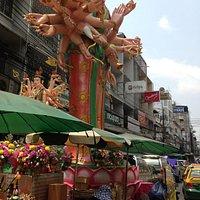 Lakschmi statue @ Phahurat Market
