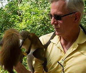 Two monkeys were so light