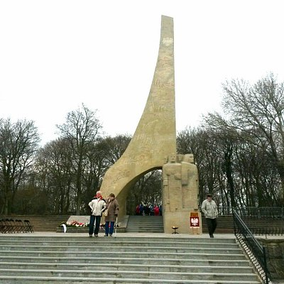 Denkmal für die Vermählung Polens mit dem Meer im März 1945