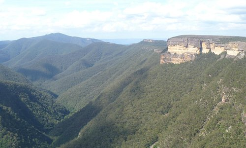 Kanangra Walls - view from the lookout