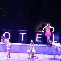 un a coreografia dello spettacolo