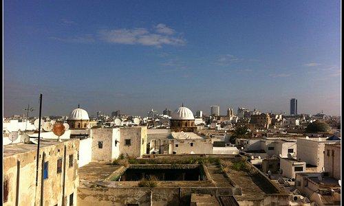 Vista da Medina de Túnis