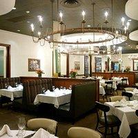 Dine in our elegant dining room.
