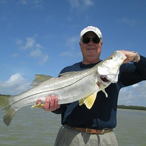 One of many great Snook caught on Reel Mell-O
