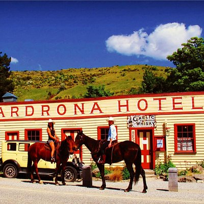 High Country Horseback Trail rides with a stopover at the famous Cardrona Hotel
