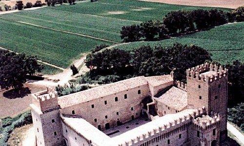 Castello della Rancia, veduta dall'alto