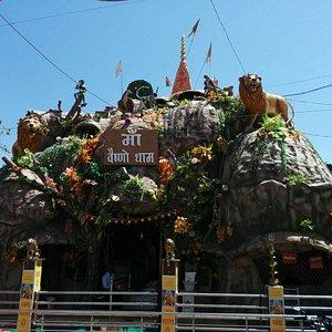 Replica of the Vaishno Devi temple
