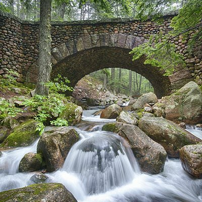 Cobblestone Bridge, Acadia National Park
