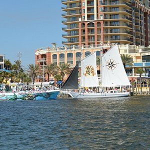 Sea Quest and Daniel W. Clements are AJs Dolphin Cruise Boats