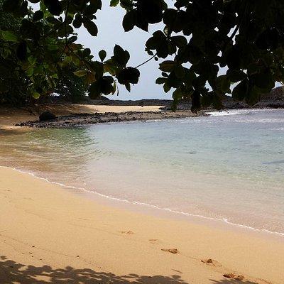 Praia Piscina, Ilha de São Tomé.
