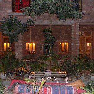 Evening at Gajendra Shanane