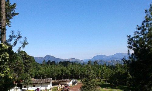 Vista panorámica desde Tirolesa 4, Zacatlán Adventure