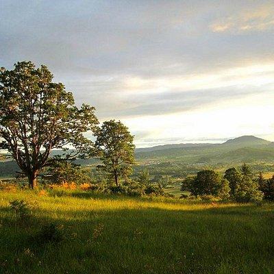 Mont Pisgah sunset