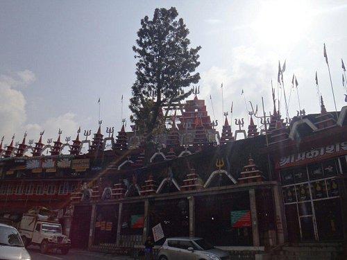 It is in the next shri shiv mandir