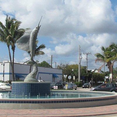 Sailfish Fountain, Downtown Stuart FL