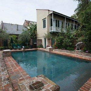 Pool at the Audubon Cottages