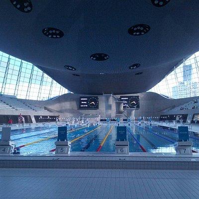 Olimpici pool view