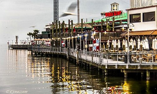 Kemah Boardwalk restaurants
