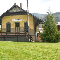 Train Depot in process of rehab.  A walk through is available.