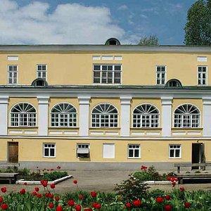 Фасад музея Федина