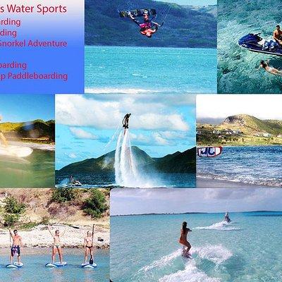 Flyboarding, Kiteboarding, Jet Ski Snorkel Adventures, Jet ski rentals, wakeboarding, tubing