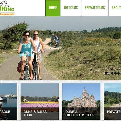 Standaard en prive fietstours in de omgeving van Bloemendaal