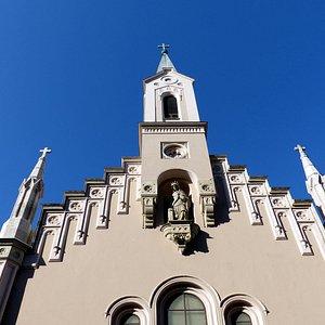 Facade of Capuchin Church