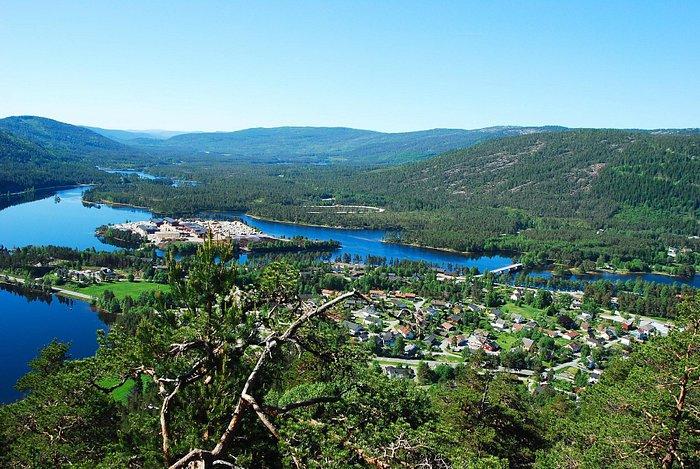Byglandsfjord view south