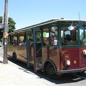 Open Air Tour Trolley