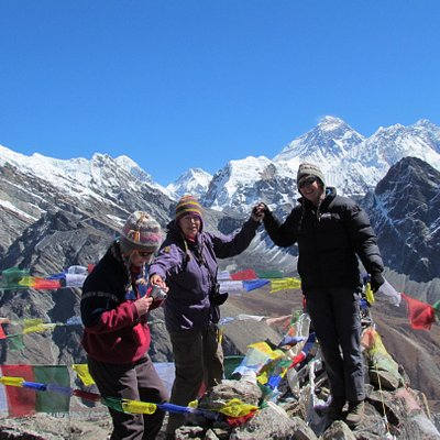Top of Gokyo Peak