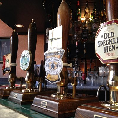 Lovely real ale bar.