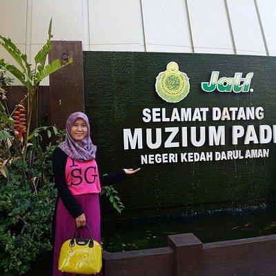 Muzium padi is the best place! ��