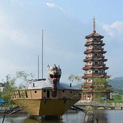 Башни Дабо и корабль Кобуксон