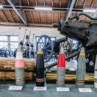 Une belle collection de munition